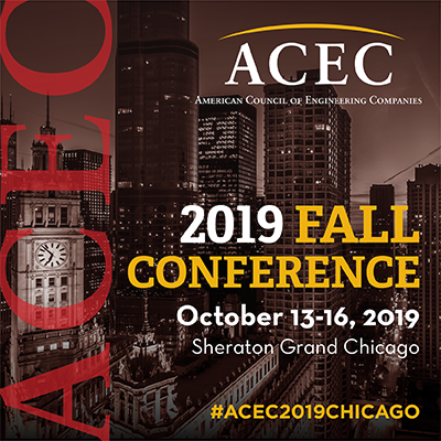 ACEC 2019 Fall Conference Chicago - October 13-16