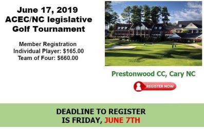 ACEC/NC 2019 Golf Tournament
