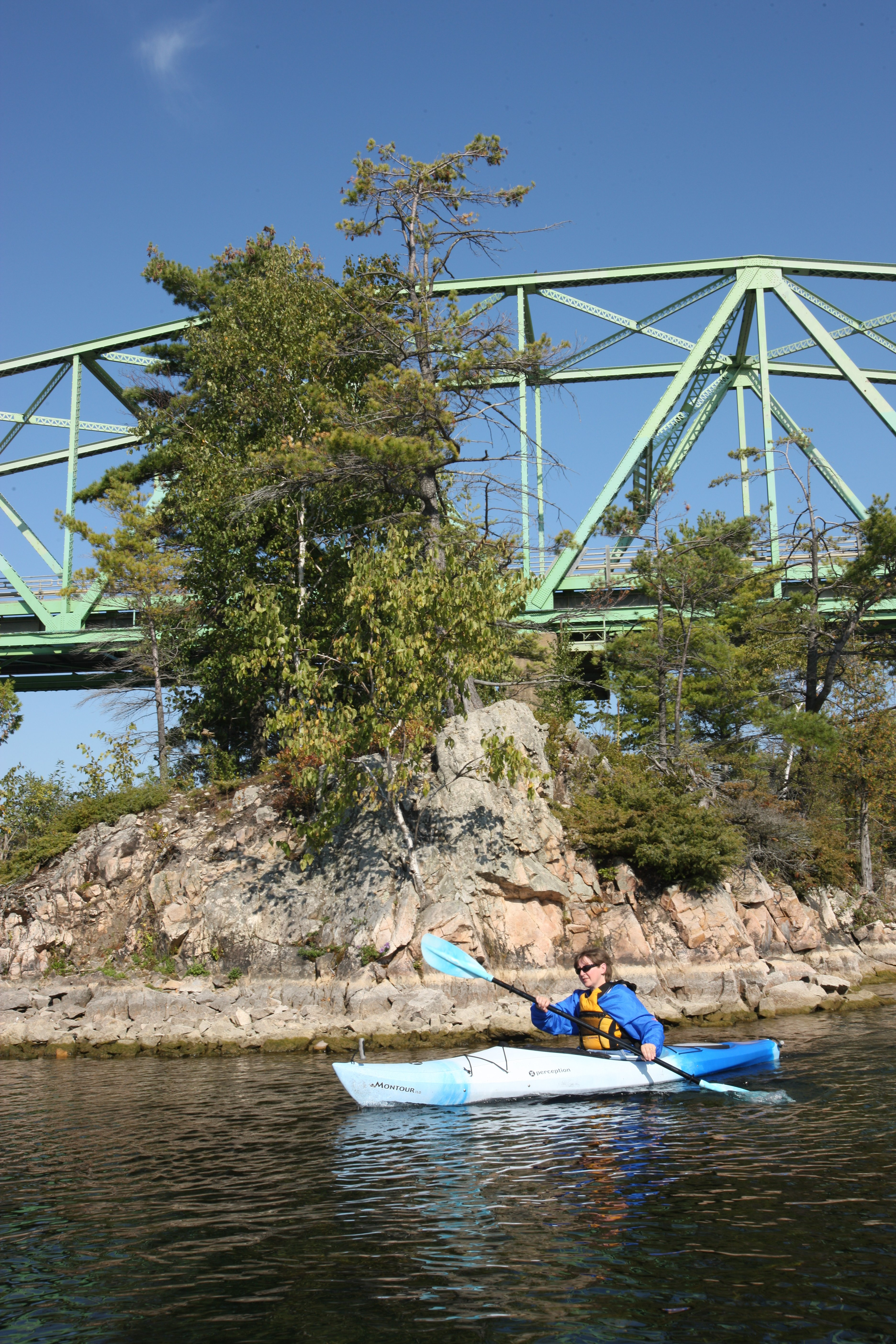 Kayaking on the St. Lawrence
