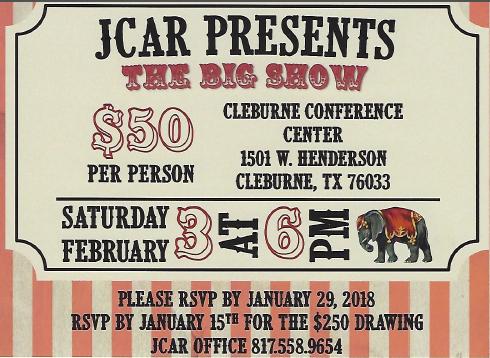 JCAR Awards and Installation Banquet.