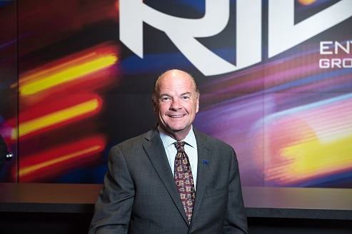 Ed Hiller, CEO of Ride Entertainment