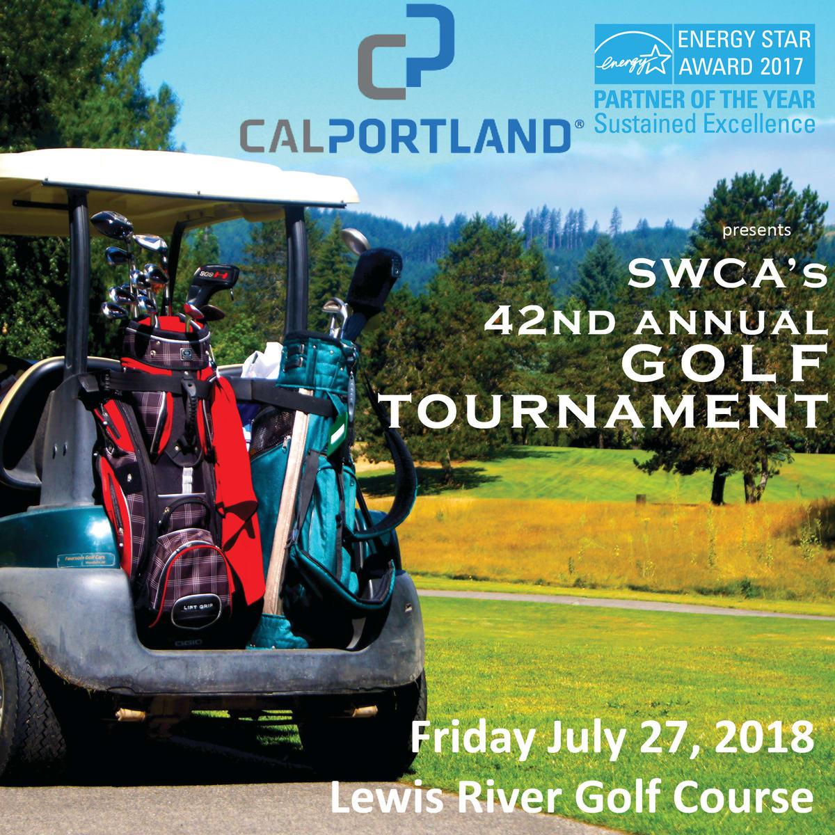 SWCA 42nd Annual Golf Tournament presented by CalPortland