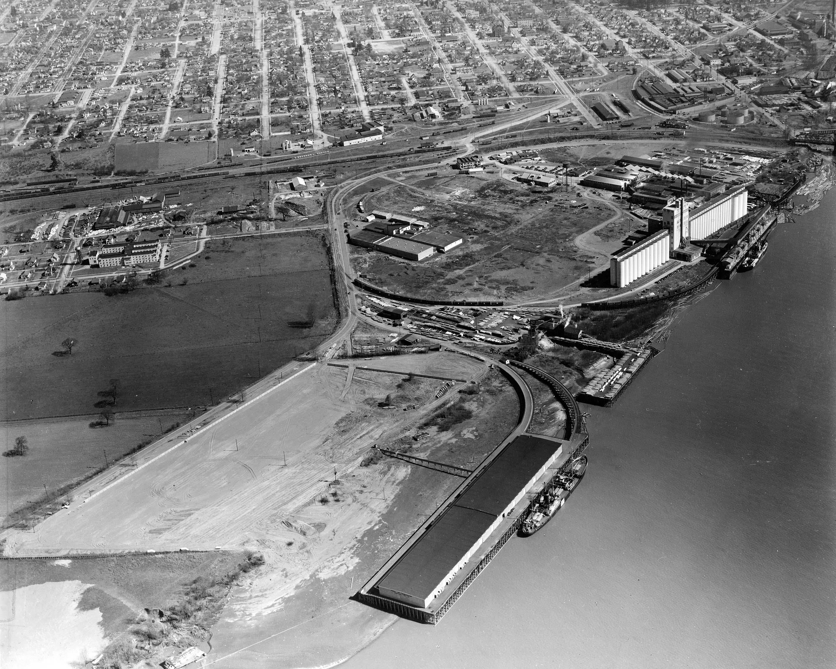 Port of Vancouver 1940s