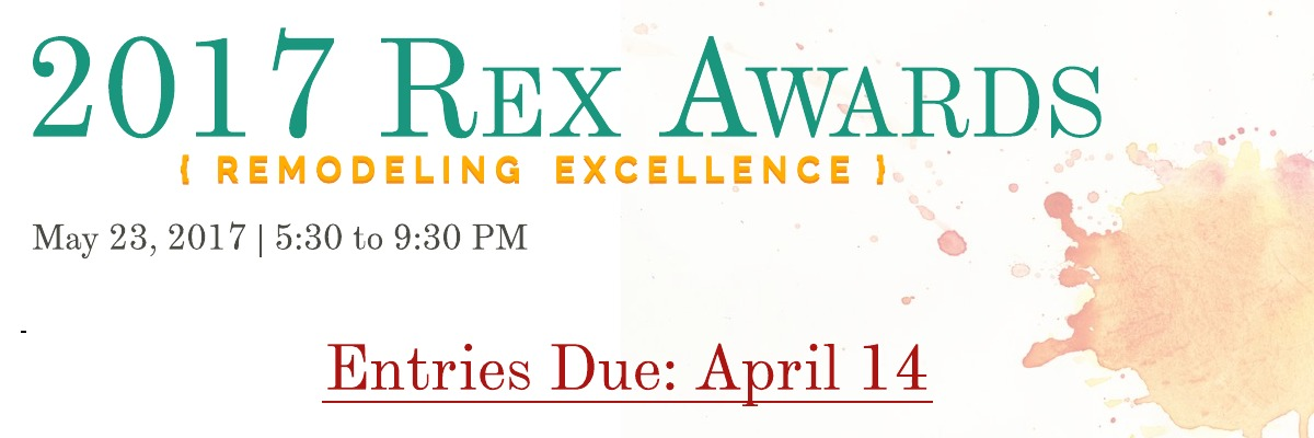 2017 REX Awards (Remodelers Excellence)