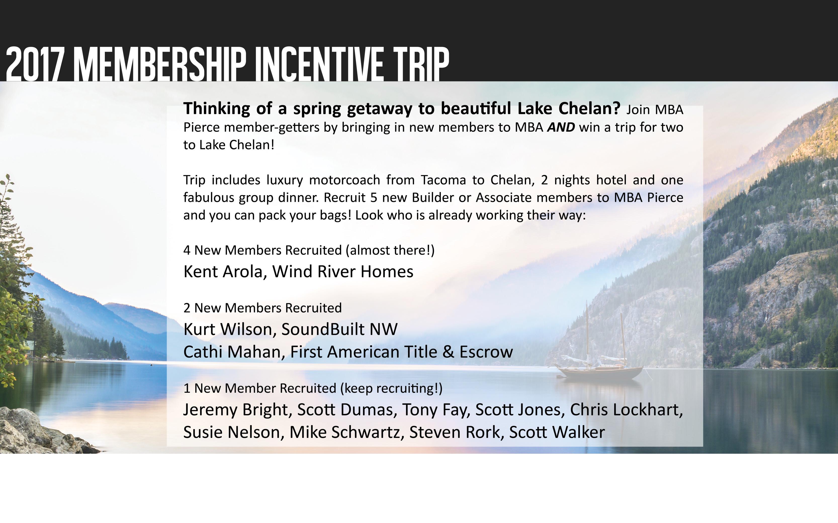 2017 incentive trip