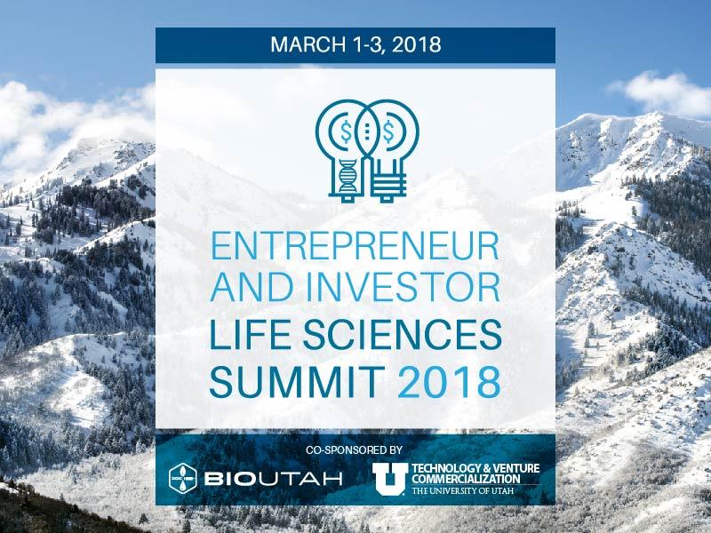 BioUtah's Entrepreneur & Investor Summit 2018