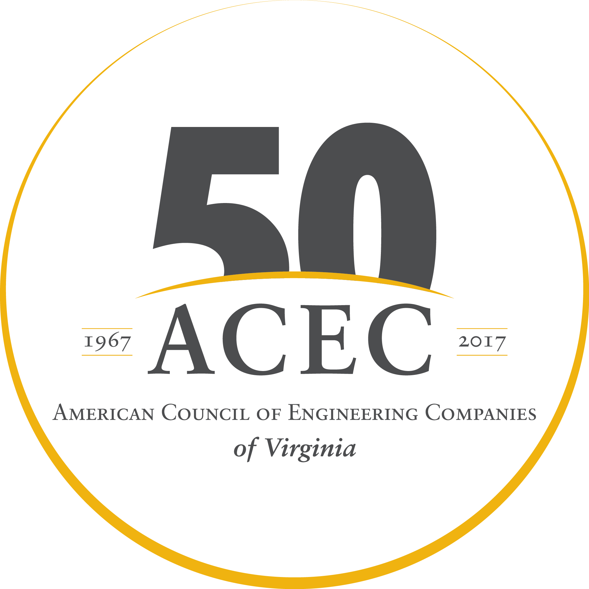 ACEC/VA is Celebrating 50 Years! Click here to learn more.