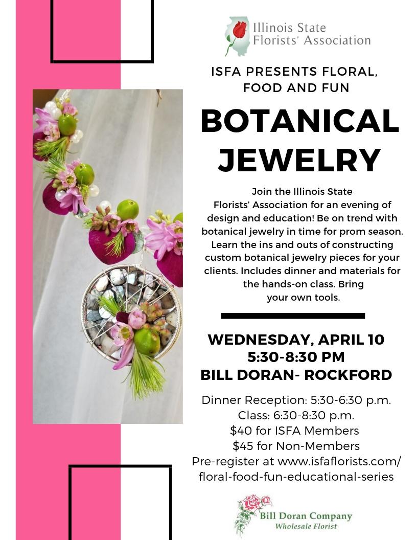 Floral, Food & Fun Educational Series - Illinois State Florist