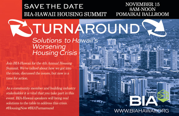4th Annual Housing Summit - BIA - Hawaii, HI