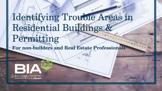 Identifying Trouble Areas in Residential Buildings & Permitting