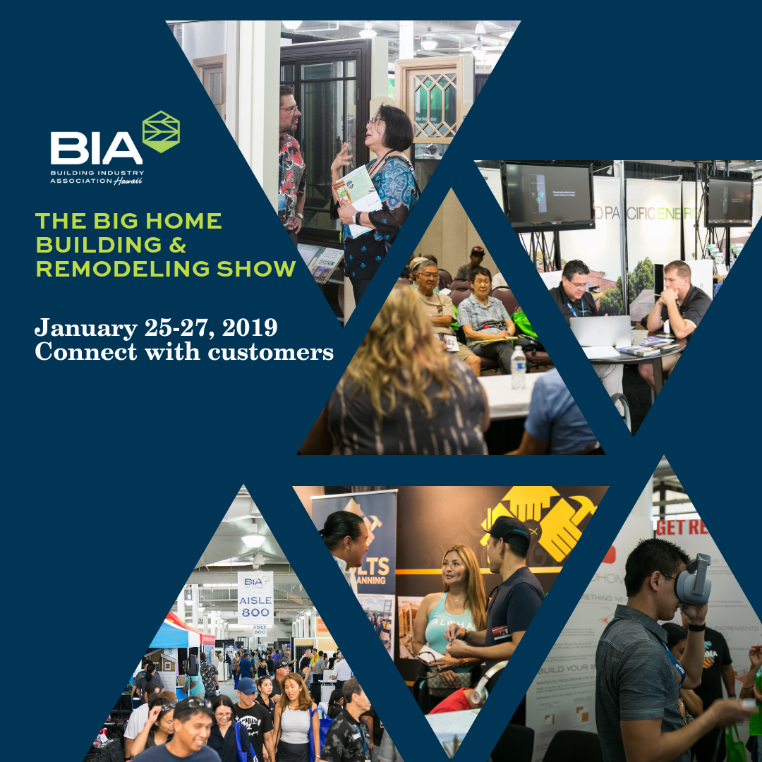 Big Home Building & Remodeling Show 2019 Booths Available