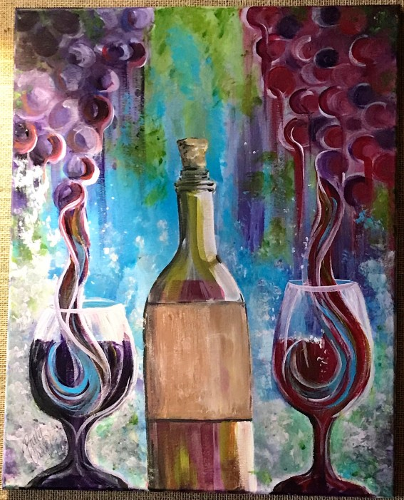 2017 Wine Stroll Art Contest Winner