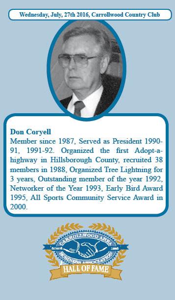Don Coryell Hall of Fame