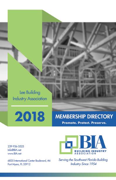Membership Benefits - Lee Building Industry Association, FL