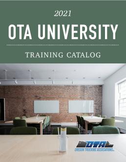 2021 Oregon Trucking Association Training Catalog