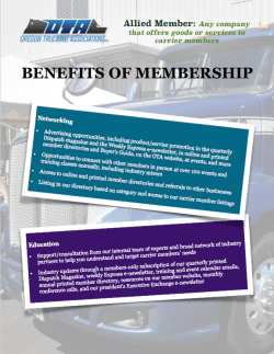Allied Member Benefits
