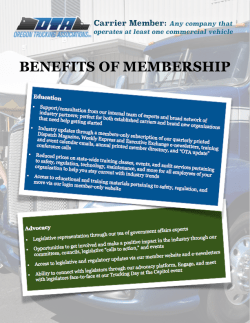 Carrier Member Benefits