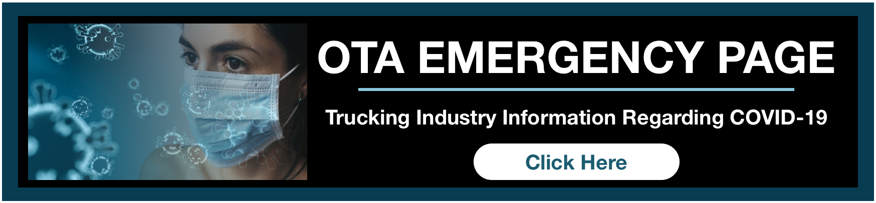 OTA Emergency Page for Trucking Industry Information Regarding COVID-19
