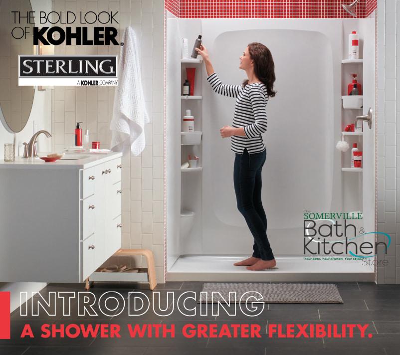 Bold Look Of Kohler-- Shower Flexibility