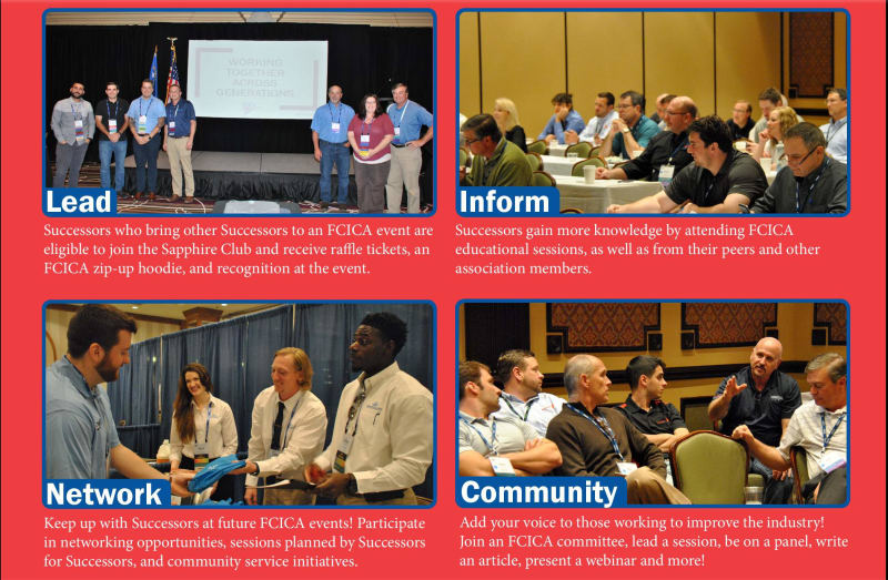 All members 40 and under are invited to special events during FCICA's annual conventions and mid-year meetings.