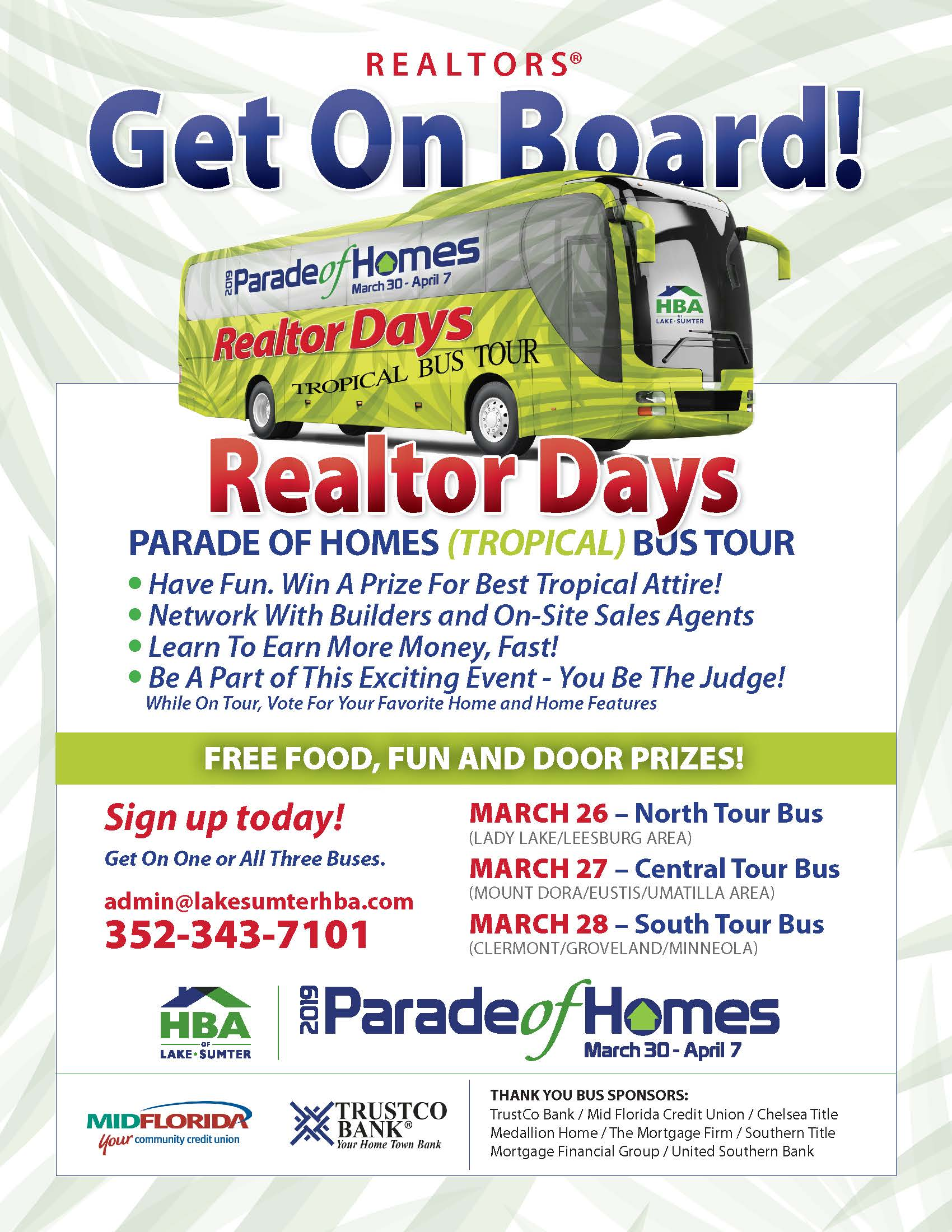 Realtor Bus Tour- Model Homes