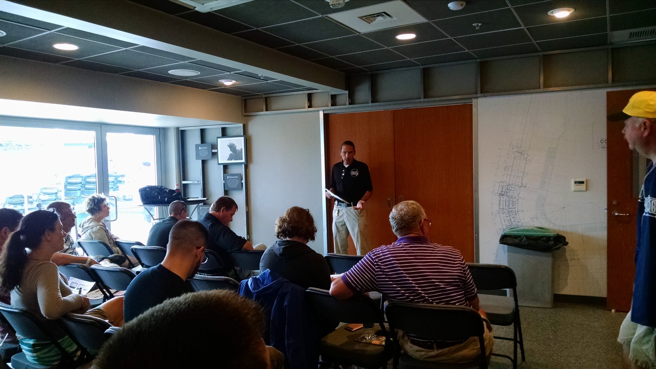 Mike Segerstrom at the PENNBOC Region 2 Meeting - July 25, 2017