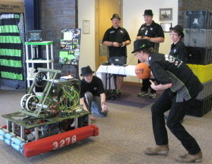 Detroit Lakes QWERTY Robotics Team in action!