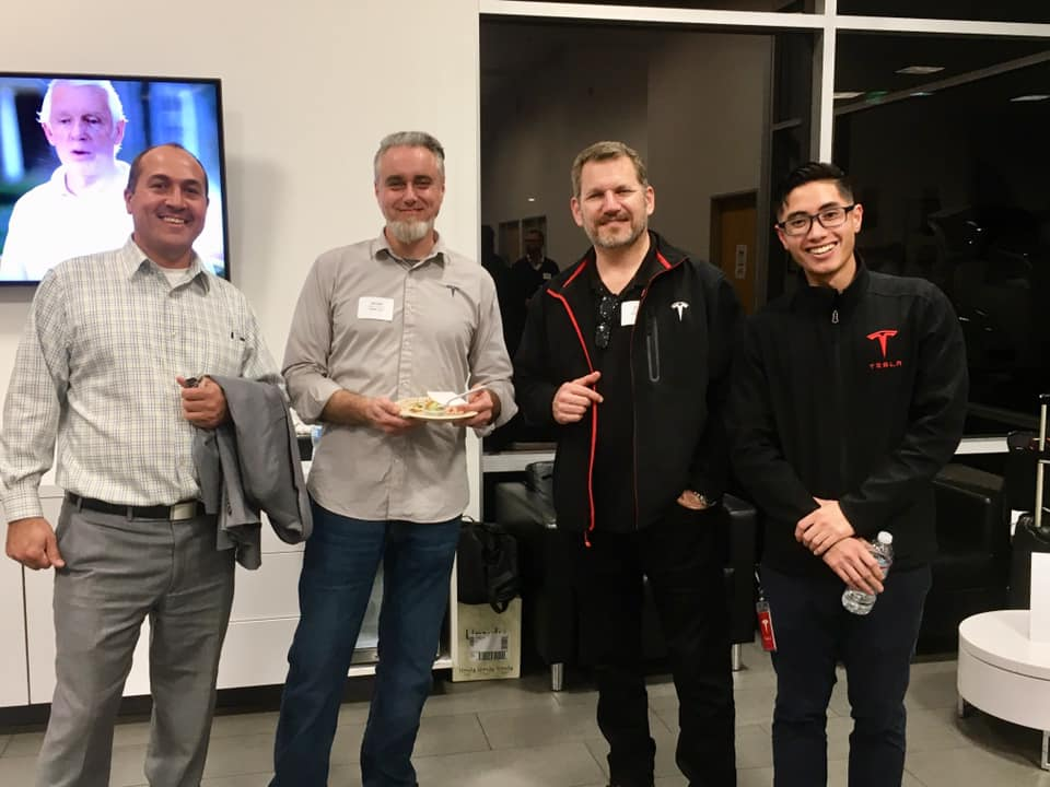Tesla Business Exchange Mixer 2019