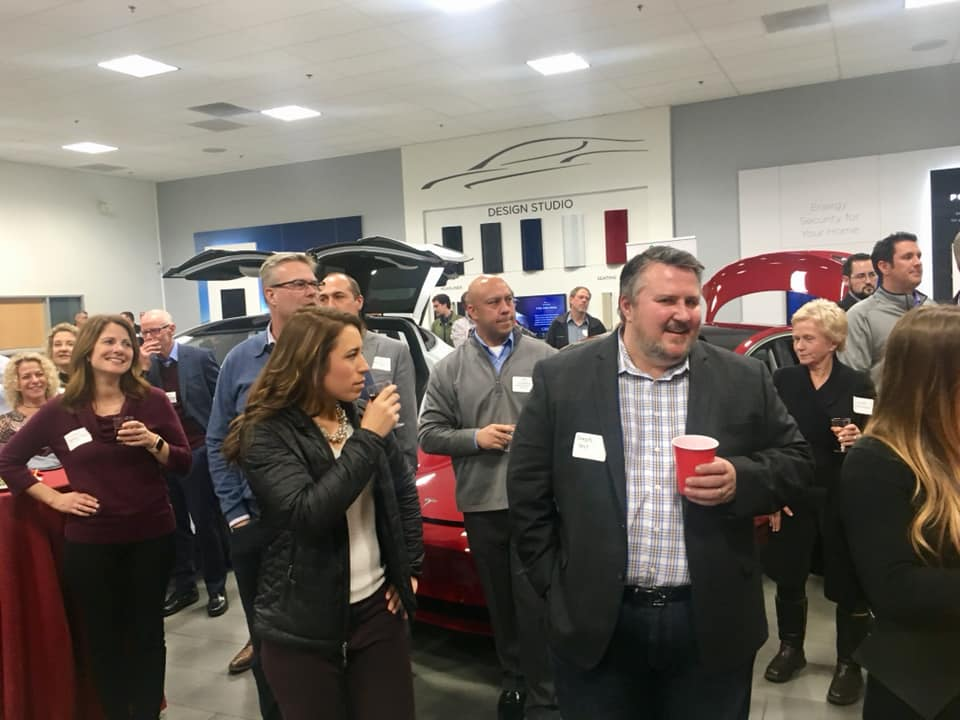 2019 Tesla Business Exchange Mixer