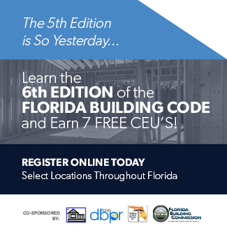 Building Code Training Session 6th edition 7 Free CEU's