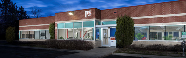 P3's facility in Southfield
