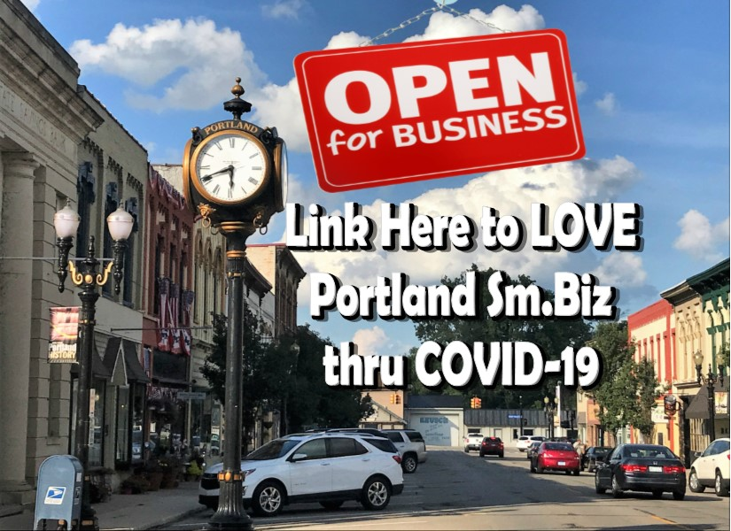 Portland MI Business Open COVID-19
