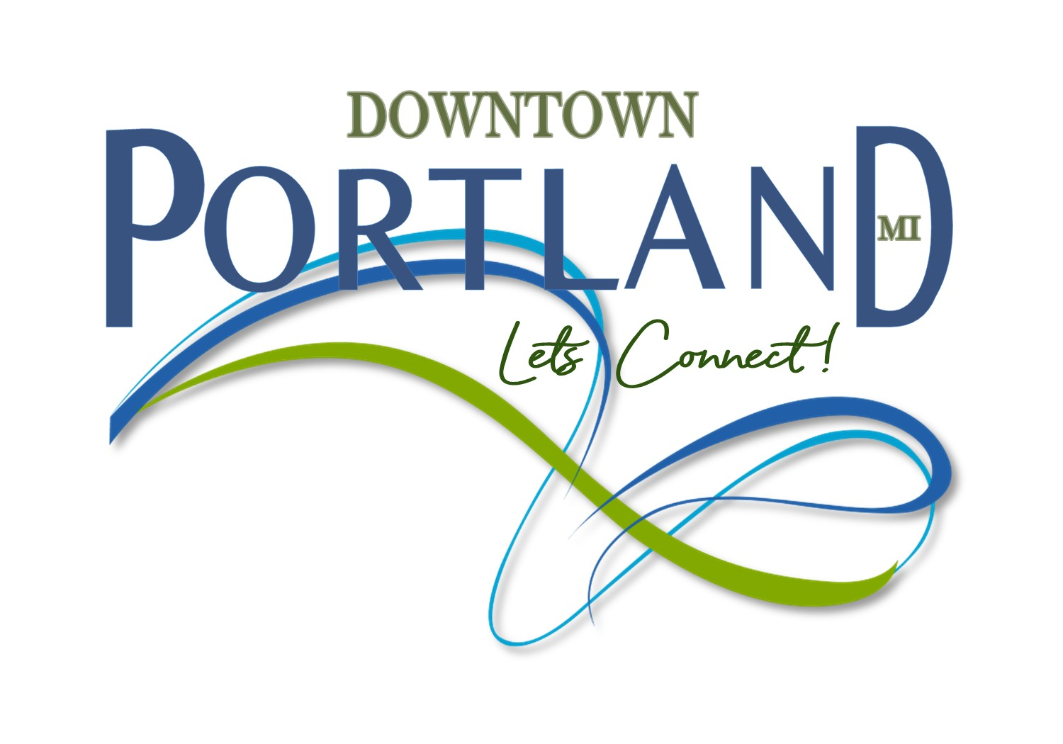 Downtown Portland, Michigan Logo