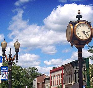 Town Clock - Portland MI