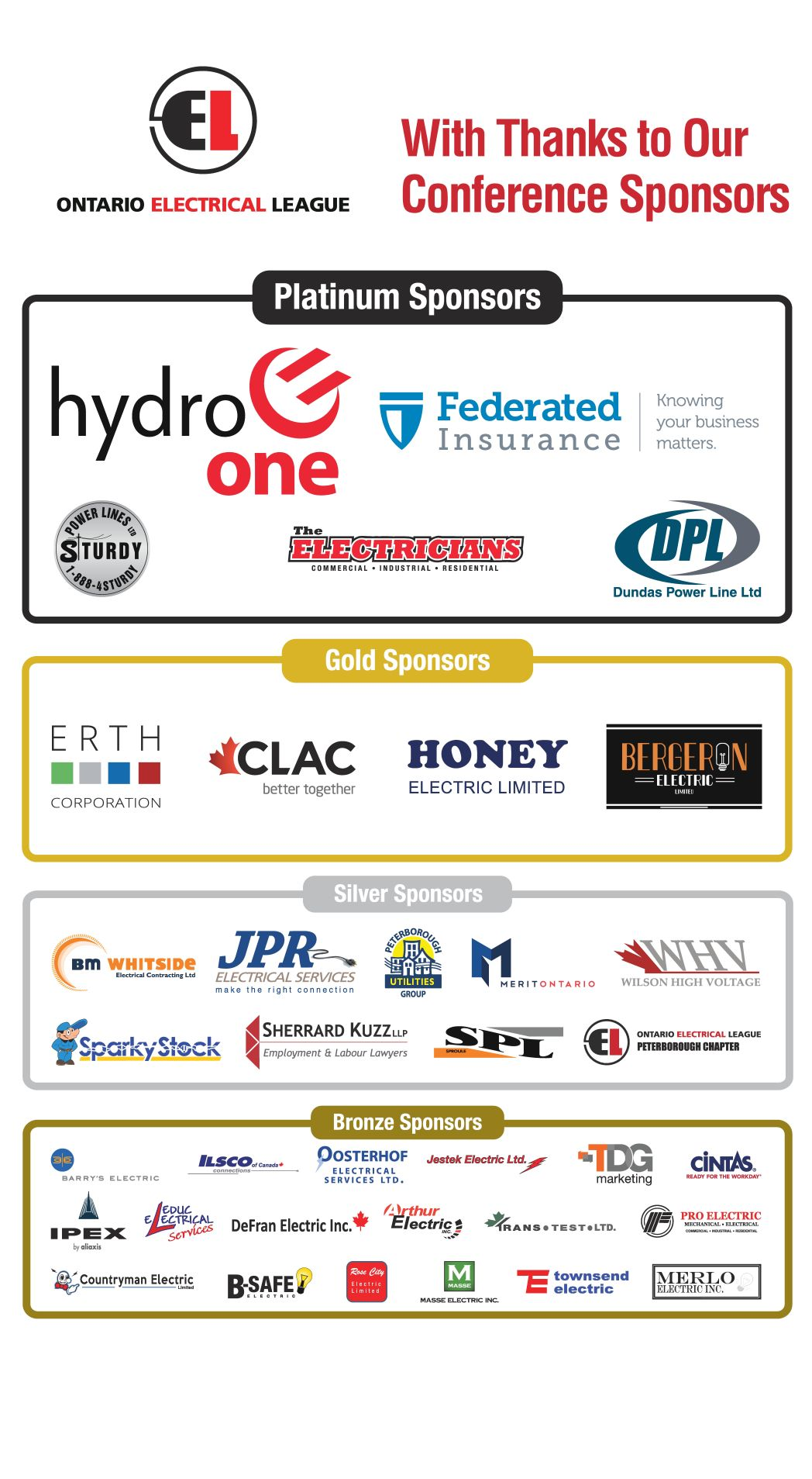 2019 Electrical Industry Conference - Ontario Electrical