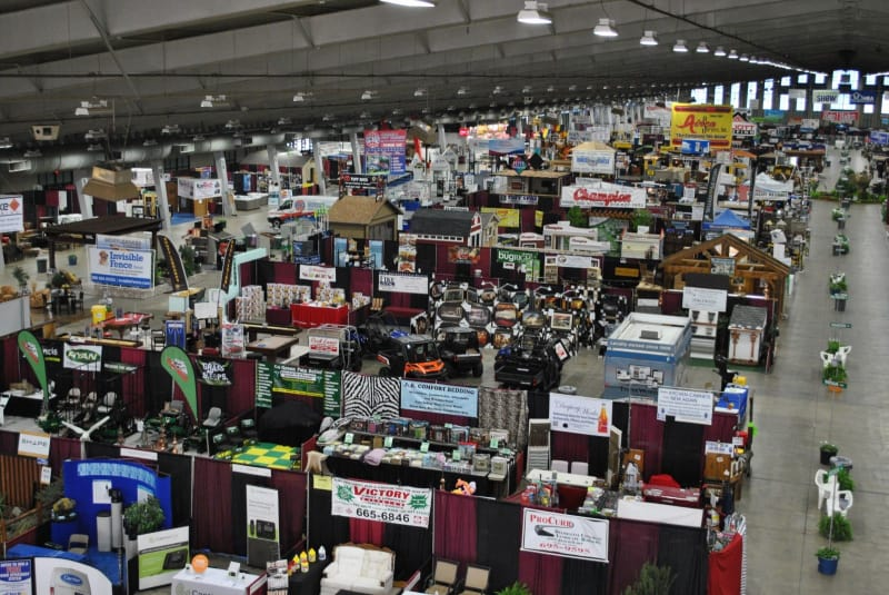 Home And Garden Show Crowd