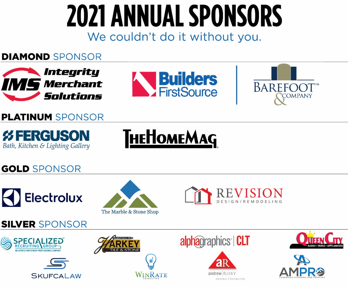 Thank You to Our Annual Sponsors