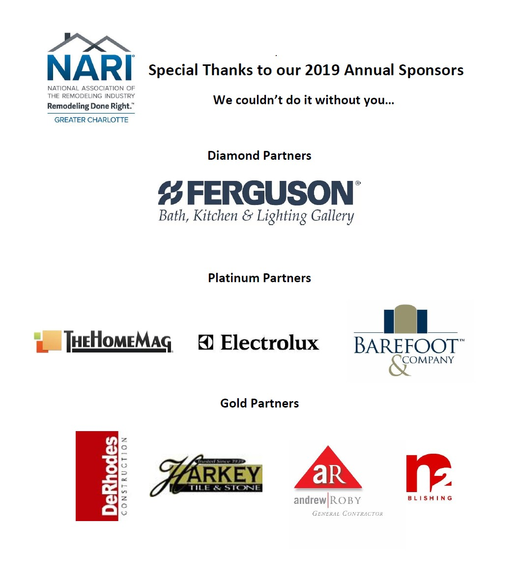 Thank you to our 2019 Annual Sponsors!