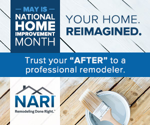May is National Home Improvement Month!