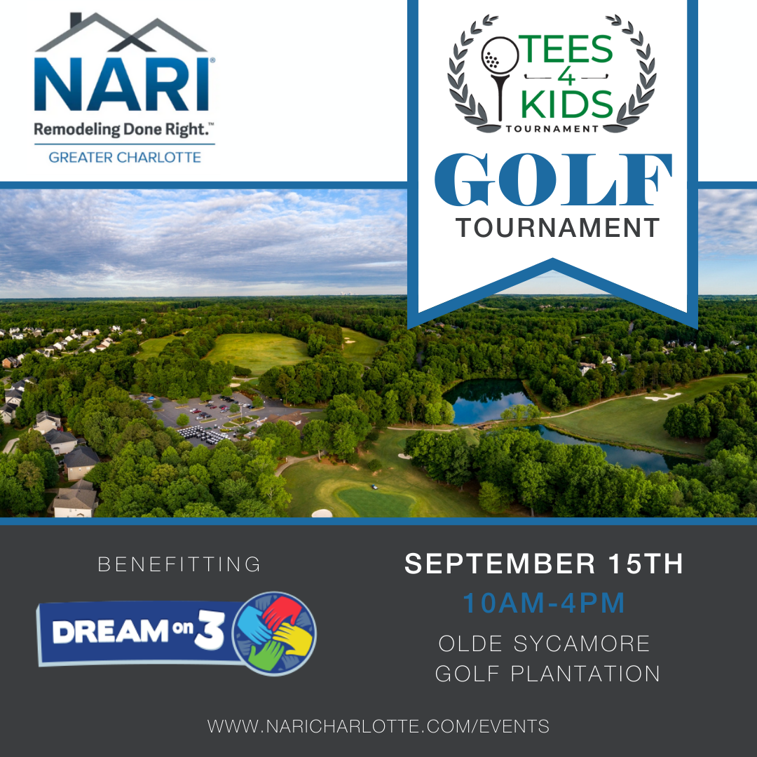 Mark Your Calendars for our TEES4KIDS Golf Tournament!