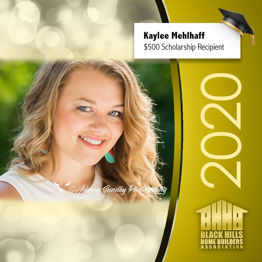 Kaylee Mehlhaff Scholarship Winner