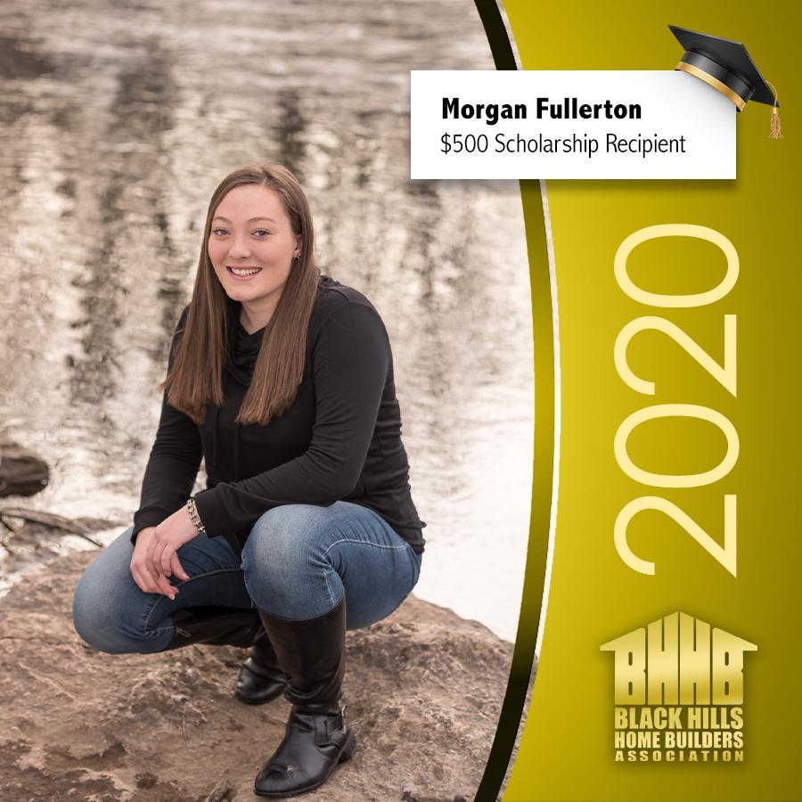 Morgan Fullerton Scholarship Winner