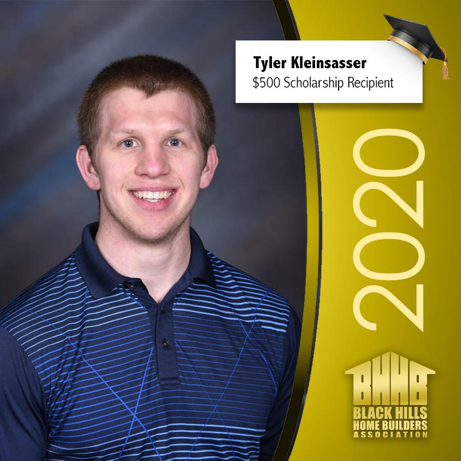 Tyler Kleinsasser Scholarship Winner