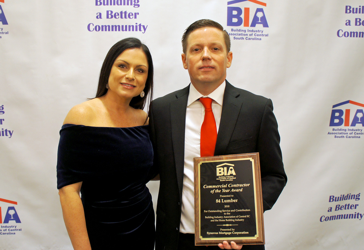 BIA Commercial Contractor of the Year 84 Lumber