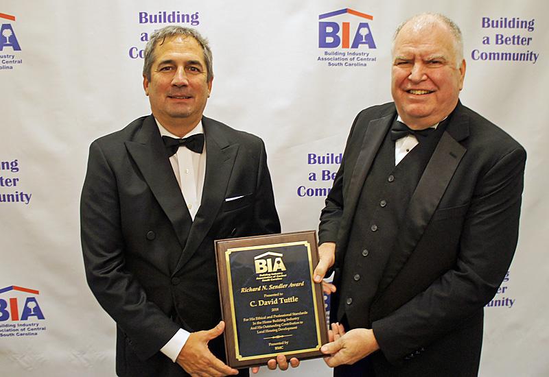 Richard N. Sendler Award David Tuttle