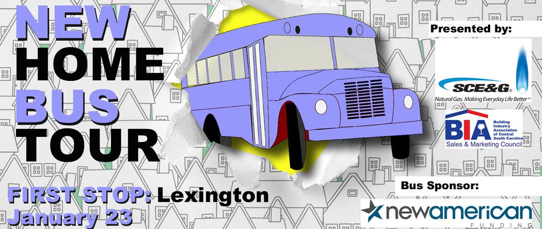 New Home Bus Tour - Lexington SC