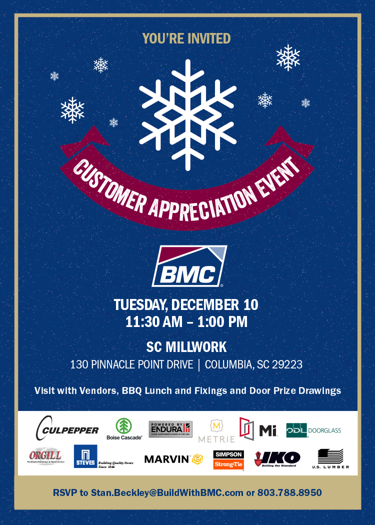 BMC Customer Appreciation Event