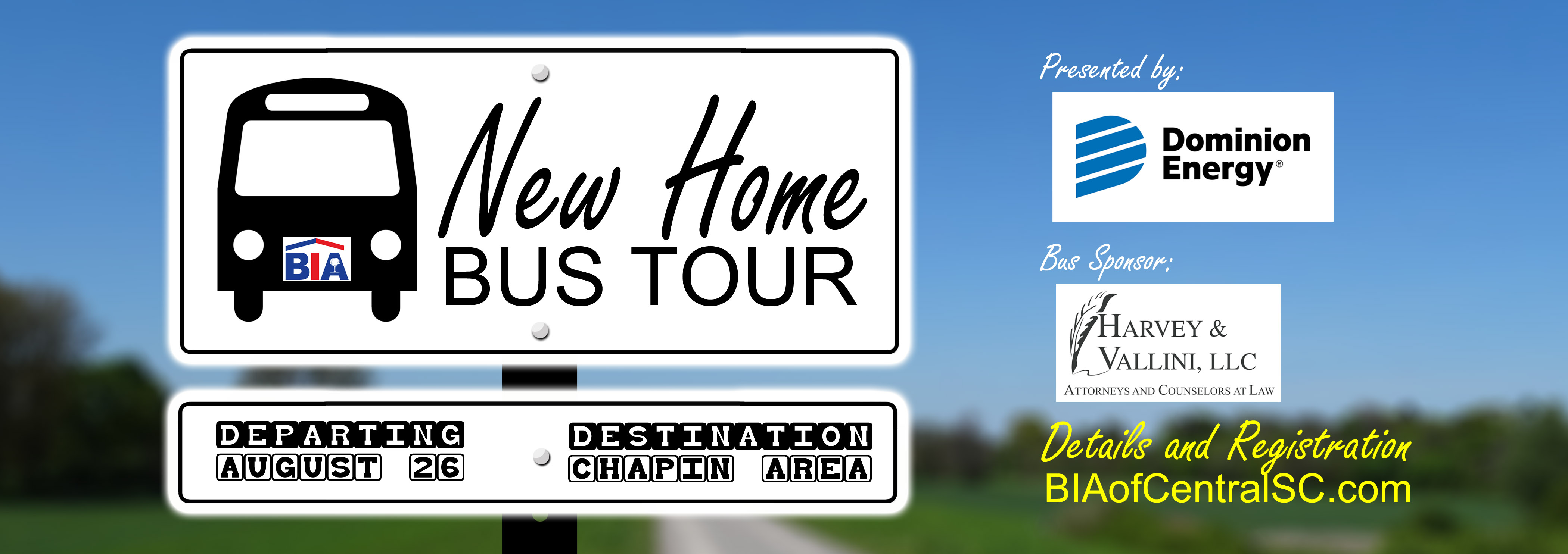 August 2020 New Home Bus Tour