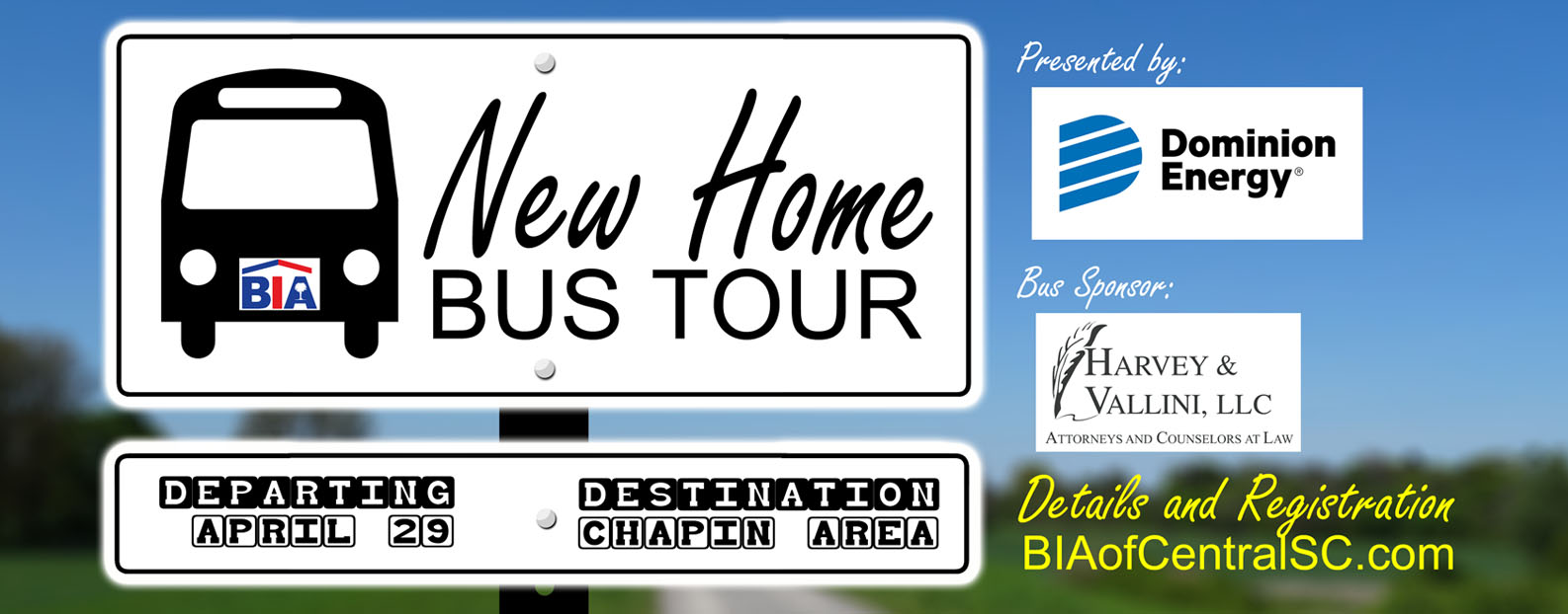 2020 New Home Bus Tour - Chapin