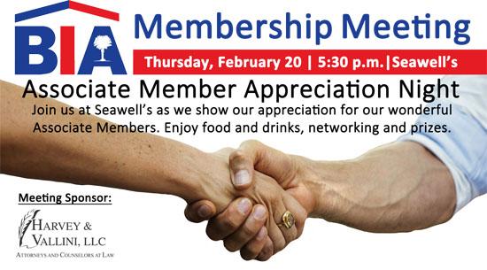 BIA General Membership Meeting - February 2020